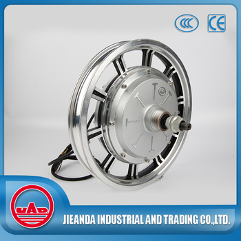 14 inch wheelbarrow brushless hub motor 12v