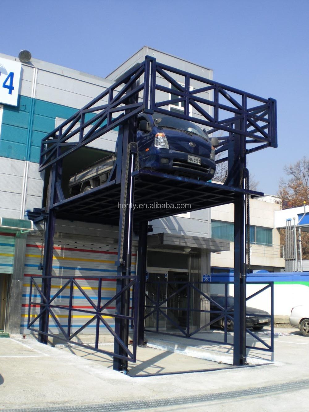 In Floor Hydraulic Garage Mid Rise Car Lift Buy Mid Rise