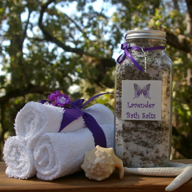 Lavender Soaking Salts 480g