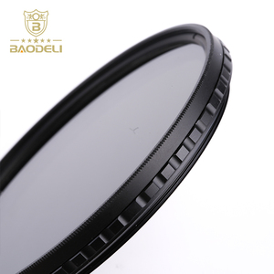 High Quality Baodeli Filters With 55mm Fader Nd Filter Camera Lens