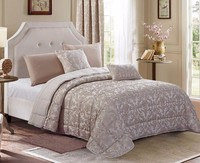 The jacquard sherpa thick summer cotton bed quilt