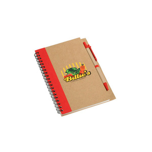 Top quality customize A4 A5 A6 paper bulk spiral notebooks with pen