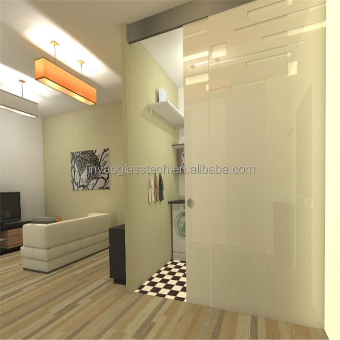 Living Room Glass Partition Design