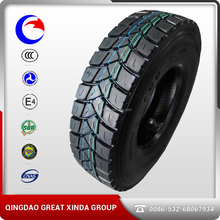 >255 Mm Radial Design 12.00r24 Truck Tire