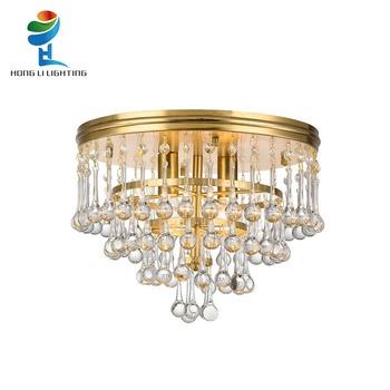 Hohe Qualität Moderne Messing K9 Kristall Decken Lampe Für Hotel Dekoration  - Buy Decke Lampe,K9 Kristall Decken Lampe,Messing Decke Lampe Product on  ...
