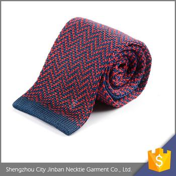Good Price Cheap Adjustable Sublimation Knitted Necktie Pattern
