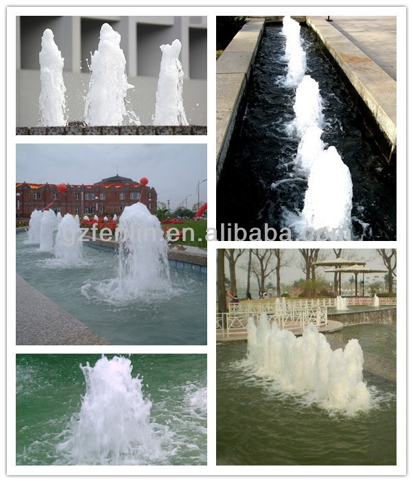 Large outdoor music fountain high pressure nozzle