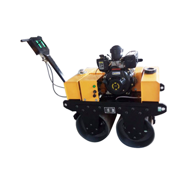 double  drum  small vibratory roller and compactor