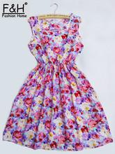 Krátké letní šaty v různých barevných provedeních a vzorech na Aliexpress