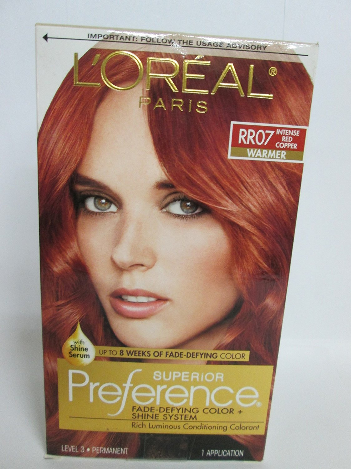 Buy Pref Red Copper Rr 07 Size 1ct Loreal Preference Hair Color