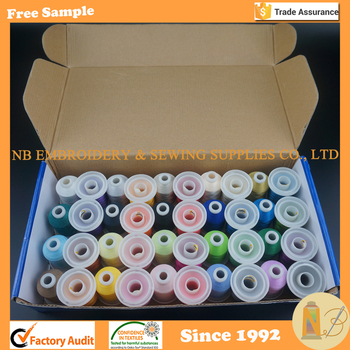 1000m 1100y 40 Brother Polyester Embroidery Thread View