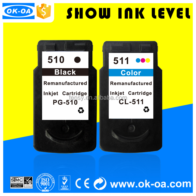 For Canon Pg-510 / Cl-511 Printer Ink Cartridge