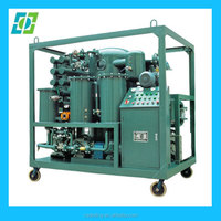 mobile trailer mounted vacuum transformer oil purifier/insulation oil filtration /dielectric oil purification system