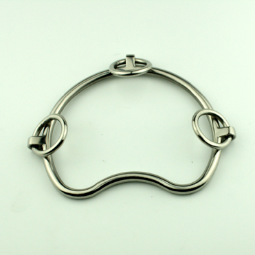 Stainless steel big ring horse racing bits