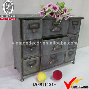 Vintage new design living room Filing Drawers metal av cabinet
