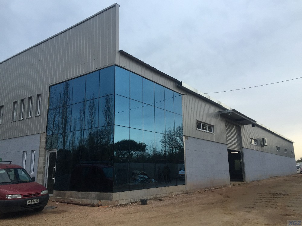 Steel Workshop and Office Building