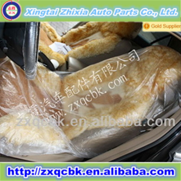 Disposable car seat cover , PE  high quality car seat cover plastic seat covers for Auto