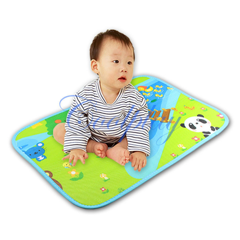 Get Quotations Free Shipping 60x41cm Baby Play Mat Crawl Gym Mats Double Side