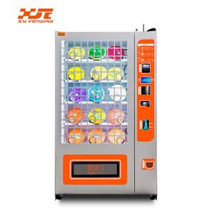 XY brand spiral gumballs vending machine factory direct selling with cheap price high quality