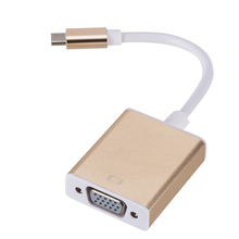 Type-C USB 3,1 USB-C мужчина к VGA Женский <span class=keywords><strong>адаптер</strong></span>
