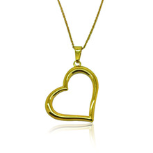 패션 강 Best Friends 라씨 금 Plated Simple Design Heart 펜 던 트 Necklace