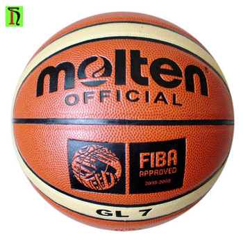 6118be55f Basquetebol wholesale quality Size7 classic modle Molten GL7 GG7 PU leather  basketball ball indoor training