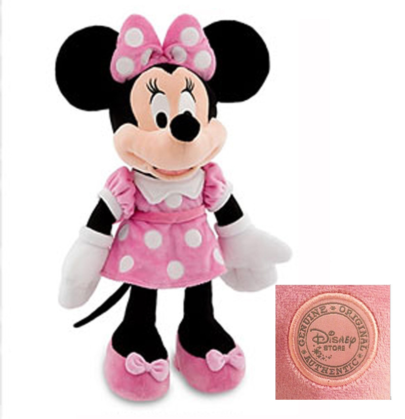 New Minnie Mouse Toys Part - 20: Get Quotations · Original Minnie Mouse Toys Pelucia Minnie Pink Stuffed Toys  48cm 19inch Mickey Girlfriend Minnie Plush Toys