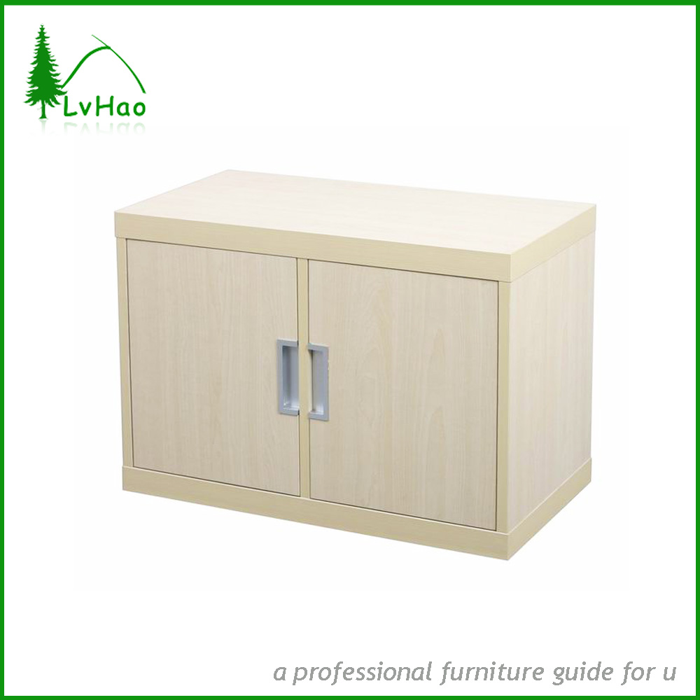 Utilidad de soporte 2 archivadores puerta de madera barata - Archivadores de madera ...