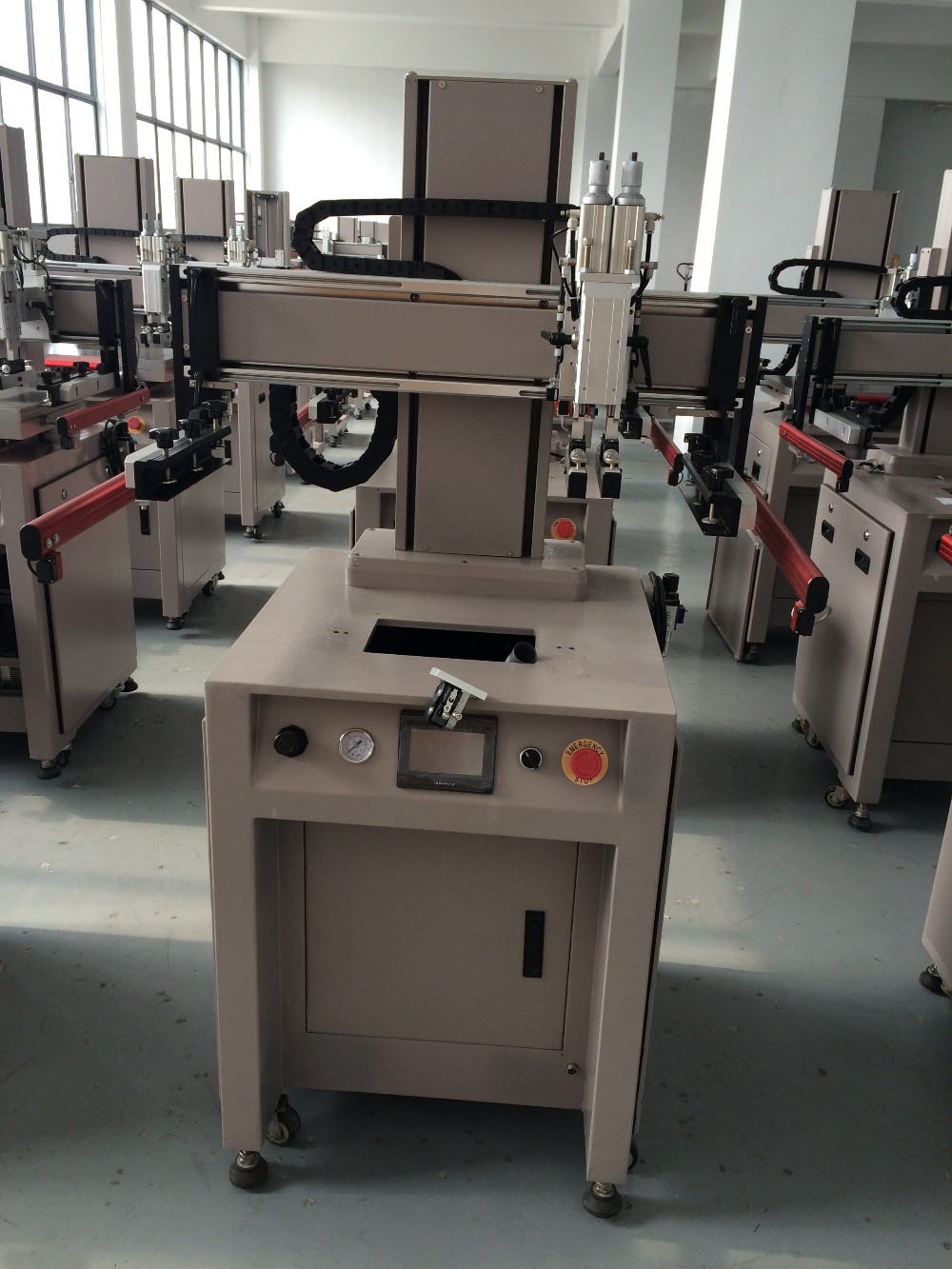 uv screen printing machine