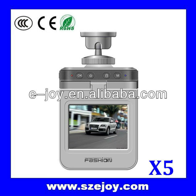 Car camera with Infrared night vision& Built-in stereo& MIC& AV-OUT/HDMI X5