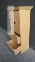 Cardboard foldable furniture,bedroom cabinet drawer slide cardboard furniture