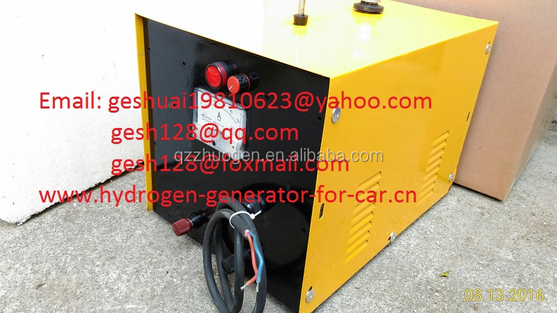 HHo dry cell, Hydrogen HHO H2 Brown's gas generator fuel cell saver & carbon cleaning machine