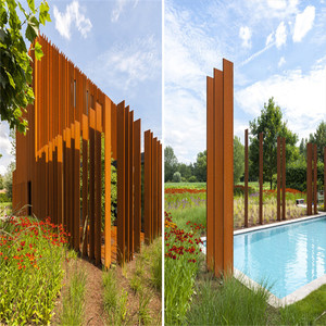 High quality cnc cutting metal fence panels/philippines gates and fences