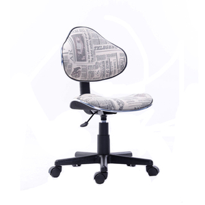 Ergonomic no arms adjustable new design mesh office chair with wheels