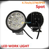 27w 9 LEDs work light fog light for truck off-road vehicles