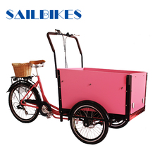 three wheel electric cargo bike for sale