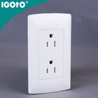 American Standard 2 gang Wall Switch Charging Point