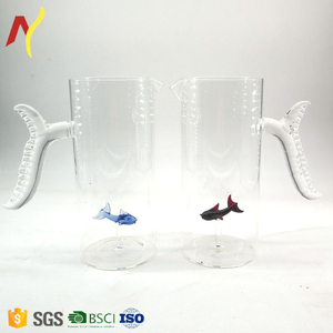 1000ml glass fish decanter