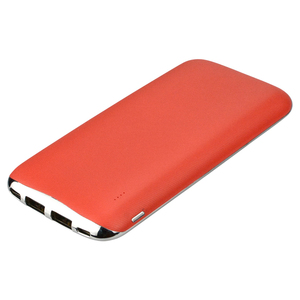 Ad mobiles Slim Rohs Power Bank 10000mah Portable Charger with Dual USB