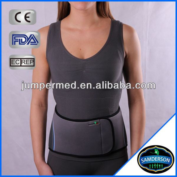 Orthopedic adjustable neoprene back support belt / Lumbar brace