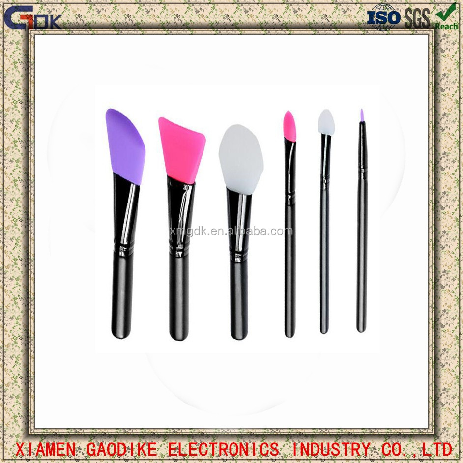 Cosmetic Silicon Face Mask Brush Head Silicone Makeup Brushes