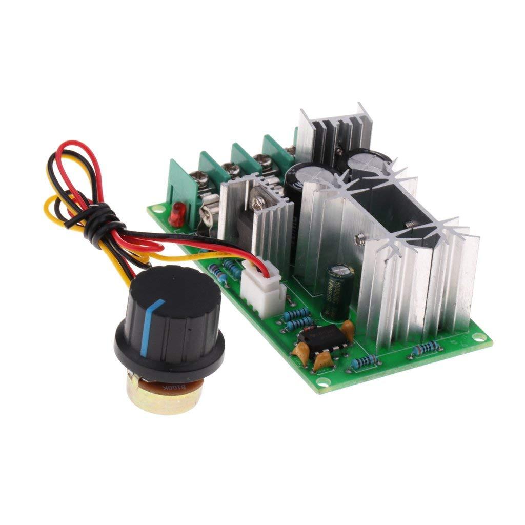 Baosity 12V 24V 36V 48V DC PWM Motor Speed Control Controller Module Max 20A 450W - 1 pack