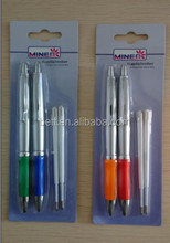 blister card paking ball-point pen