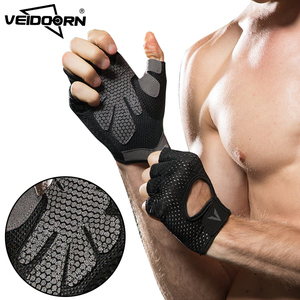 2019 Anti slip breathable men women sport fitness weight lifting workout gloves for gym