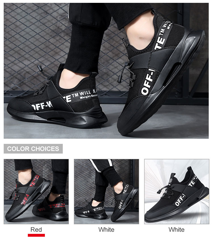 2019 China Men Lace-Up Sport Sneaker Running Men Summer Casual Shoes