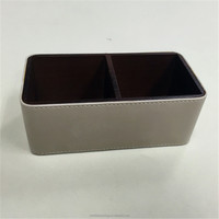 Custom Handmade Plastic Pen Holder With Memo Pad Holder