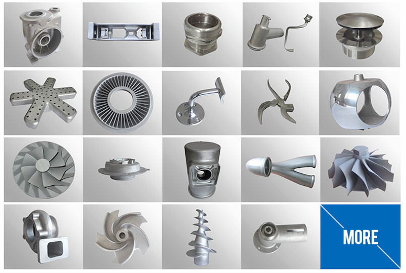 Stainless Steel Investment Casting Parts Lost Wax Investment ...