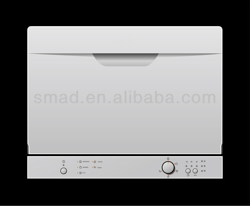 6 settings dish washing machine with SAA/MEPS/WELS
