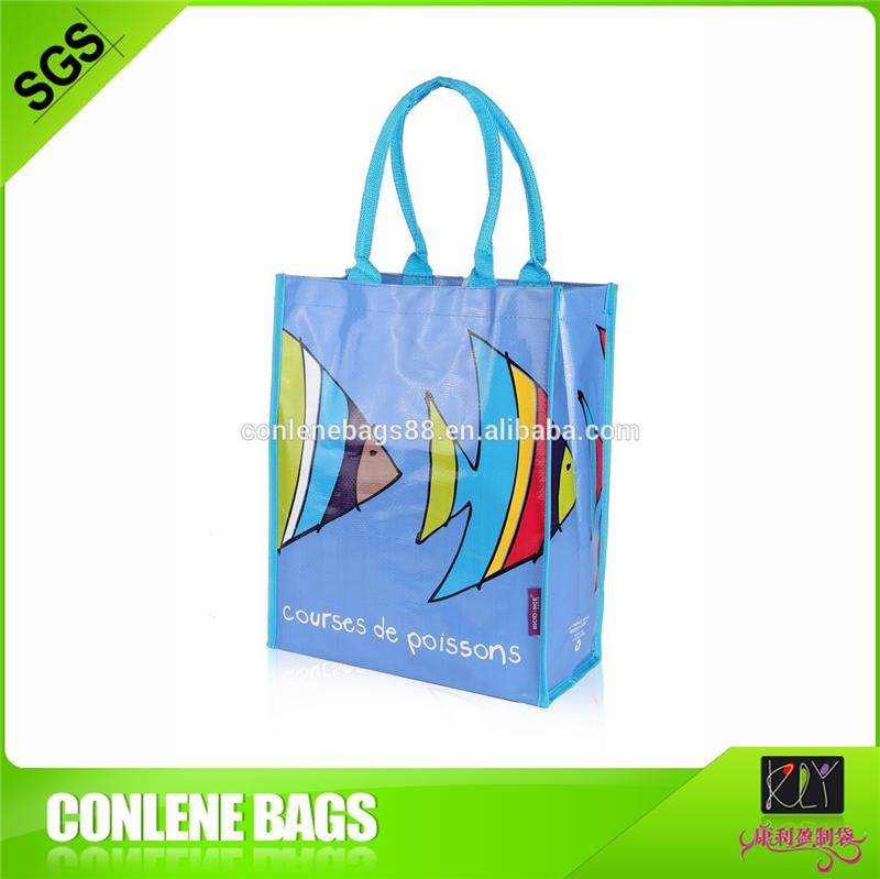 Recycled Woven Polypropylene Shopping Bags, Recycled Woven ...