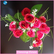 Artificial Rose wedding decoration car flowers (AF-54)